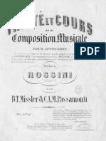 Missler-Passamonti - Traité Et Cours de Composition Musicale