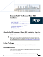 Cisco Unified IP Conference Phone 8831