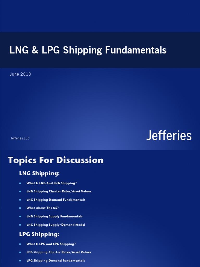 LNG & LPG Shipping Fundamentals pdf | Liquefied Natural Gas