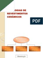 Aula 10 - Patologia Revestimento Ceramico