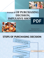 Stages of Purchasing Decision