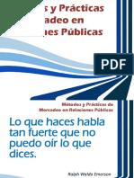 Métodos y Prácticas de Mercadeo en Relaciones Públicas