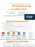 lactation presentation