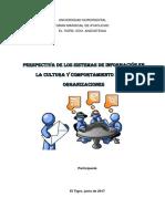 Articulo de Opinion Sistema de Informacion en Organizacion