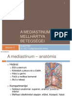 Szabo Peter a Mediastinum Es a Mellhartya Betegsegei