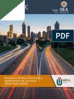 PDF Maestria en Carreteras EAIC OEA