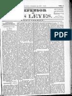 El Defensor de Las Leyes Mesa Electoral Mercedes y Acta de Alcalde Ordinario409-1838!01!30