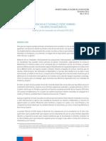 2013 12 Diferencias Actitudinales Entre Hombres y Mujeres en Matematica Resultados Prueba PISA 2012
