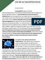 La Importancia de La Neurohormona Melatonina