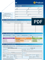 People Care 2010 Application Form