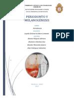 Periodonto y Melanogénesis