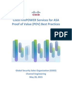FirePOWER Services for ASA POV Best Practices 1504   I Pv6