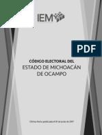 Codigo Electoral Reforma 1 de Junio de 2017
