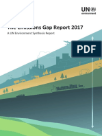 The Emissions Gap Report 2017 - A UN Environment Synthesis Report