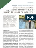 Entrevista Hotel