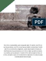 Políticas de Infancia en Chile