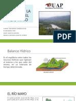 Balance Hídrico Del Alto Mayo