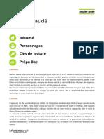 Eldorado, Laurent Gaudé - Dossier Lycée