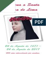Novena a Santa Rosa de Lima Para Dispositivo Móvil
