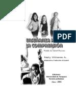 enseñanza para la comprensión uta edición preliminar