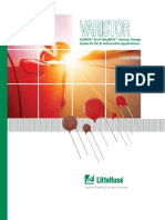 Littelfuse Varistor DC Application Varistor Design Guide.pdf