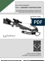 TenPoint Crossbows Turbo XLT Manual