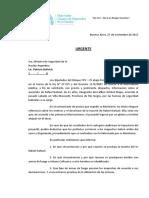Nota Asesinato Rafael Nahuel - Acceso Información Pública