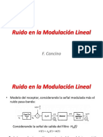 Ruido en la Modulación Lineal