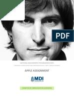 Apple Assignment