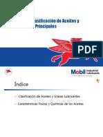Clasificacion de Aceites y Características Principales