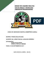 ADSL (Informe)
