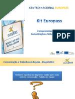 8. Kit Europass Comunicação assertiva  e Trabalho de equipa