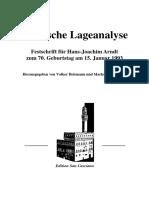 Machiavellis Lageanalyse - Markus Josef Klein (1923)