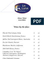 La Luna Wine List