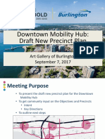2017 09 07 Downtown Mobility Hub Draft New Precinct Plan Presentation