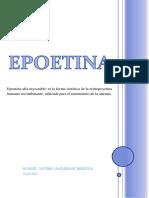EPOETINA