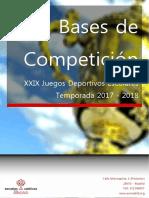 Bases Competicion 17-18