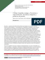 Peronismo y Representación. Escritura, Imágenes y Políticas Del Pueblo