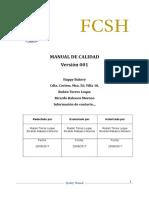 Manual de Calidad - Ejemplo