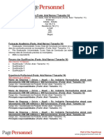 Modelo de CV PP - Candidato - Port
