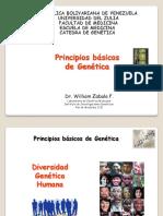 1 Tema Nº 1. Objeto de Estudio de La Genética, Leyes de Mendel, Conceptos Básicos. Enero 2016