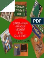 sunrise academy holiday open house 12 7 17
