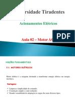 Aula 02 - Acionamentos Elétricos - Motores AC