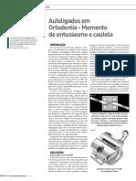 Autoligados Em Ortodontia Momento de Entusiasmo e Cautela