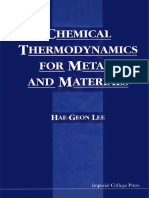 Appendices-Chemical Thermodynamics for Metals and Materials
