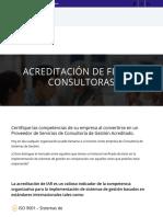 Acreditación de Firmas Consultoras | IAR