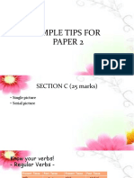 Simple Tips for Paper 2.Pptx