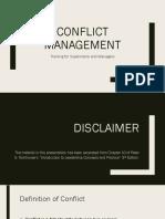 510 slideshow conflict management