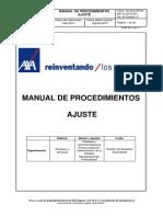 Manual de Procedimientos Del Ajustador Auto