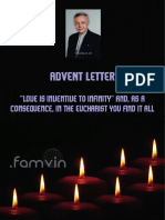 [English] Advent Letter 2017 to the Vincentian Family